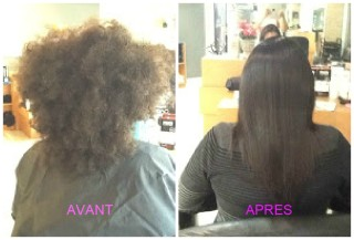lissage sur cheveux haitiens coiffure saida